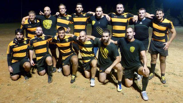 Le rugby grec est présent malgré la crise avec les Lions de Thessalonique