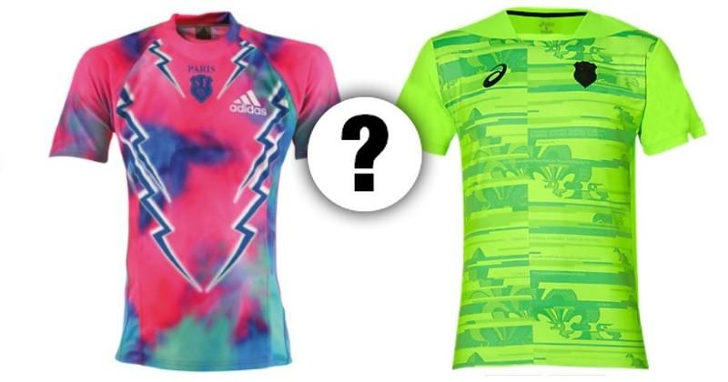 PHOTOS : le Top 10 des maillots WTF du Stade Français Paris