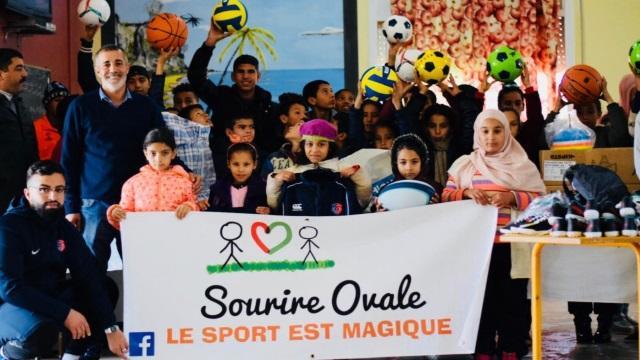 PHOTOS. Sourire Ovale, le joli projet mené par un joueur de La Seyne auprès d'orphelins au Maroc