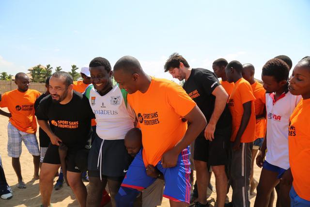 Pierre Rabadan, ambassadeur du rugby au Burundi