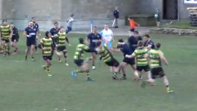 VIDEO. Rugby amateur : l'énorme collision entre deux piliers néo-zélandais