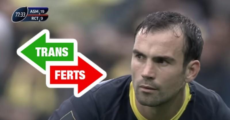 POINT TRANSFERTS : retraite pour McAlister, Parra jusqu'en 2022, un Toulonnais en Pro D2, Zhvania aux Wasps