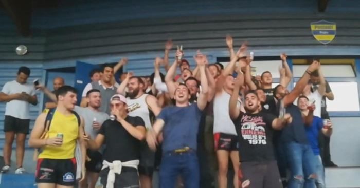 VIDÉO. Rugby Amateur : adversaires du jour, les joueurs de Pontault et Pithiviers se réunissent pour une belle fête en tribunes