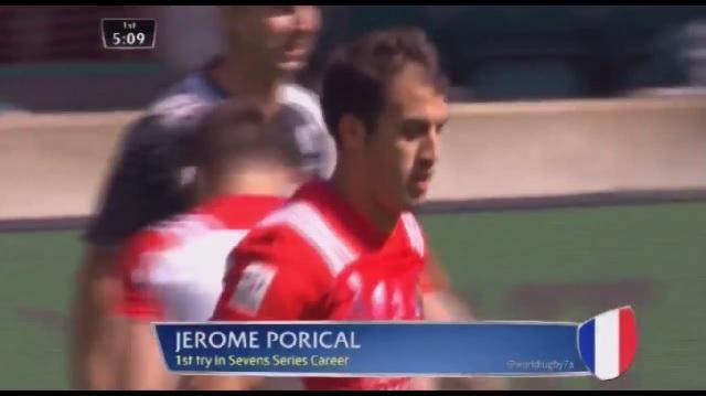 Vidéo. Londres 7's :Les essais de l'équipe de France lors de la première journée