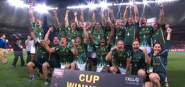 VIDEO. Port Elizabeth Sevens : L'Afrique du Sud titrée devant son public, la France 6ème