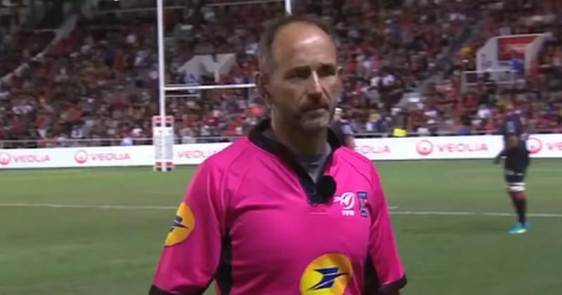 VIDÉO. Romain Poite a-t-il été victime d'une commotion lors de Leinster vs Wasps ?