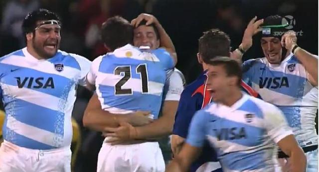RÉSUMÉ VIDÉO. Première victoire historique pour l'Argentine contre l'Australie en Rugby Championship (21-17)
