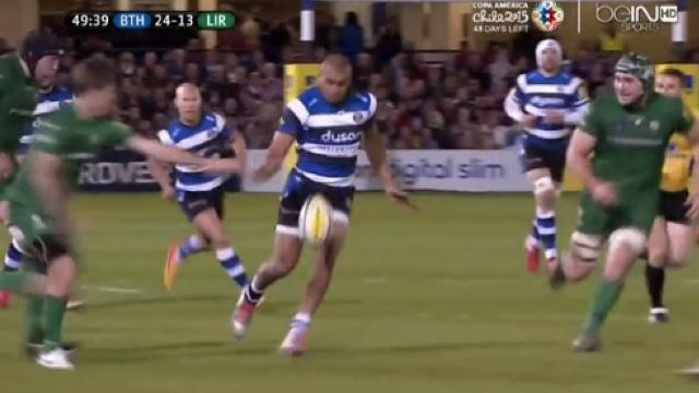 VIDÉO. Premiership. Bath : Le festival de Jonathan Joseph contre les London Irish