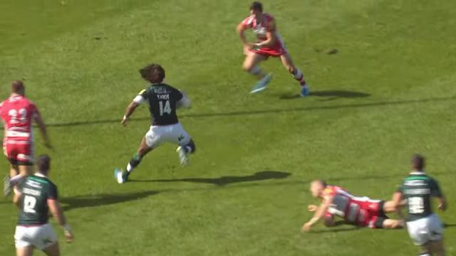 VIDEO. Premiership - Marland Yarde fait l'amour à la défense de Gloucester pour un triplé spectaculaire