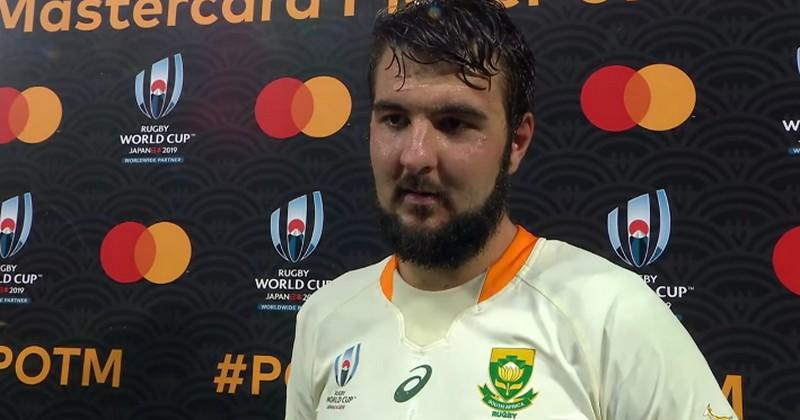 Rugby Championship - De Jager, le nouveau coup dur de l'Afrique du Sud