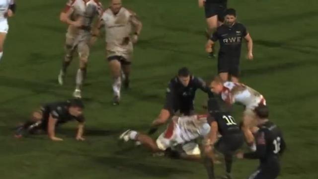 VIDEO. Pro 12 : Nick Williams tente de se faire la malle à quatre pattes sur plusieurs mètres
