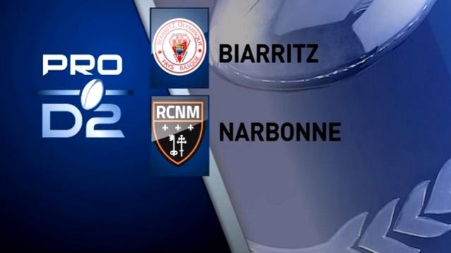 Pro D2 : maintien accordé pour le Biarritz Olympique et Narbonne