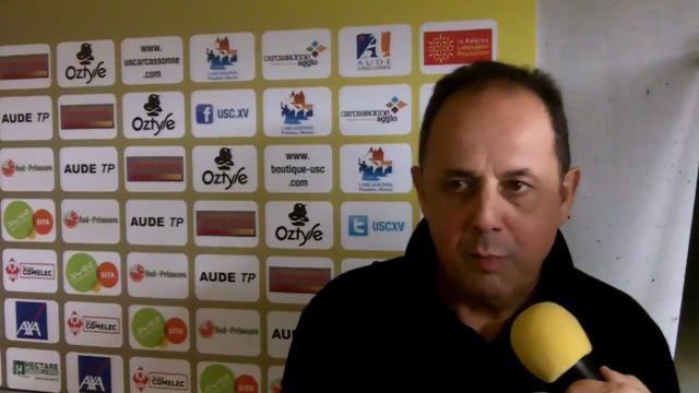 VIDEO. Pro D2 :  Christian Gajan à Carcasonne, Christian Labit à Aix-en-Provence