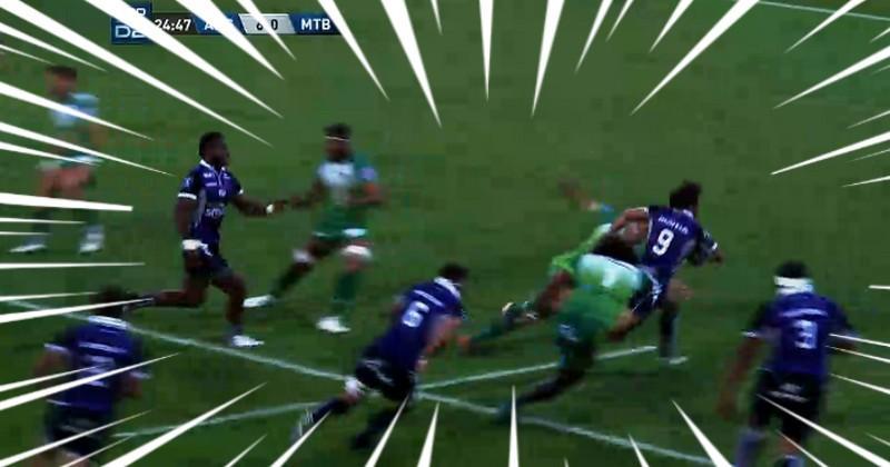 VIDEO. Pro D2 - Erwan Nicolas a du gaz et le prouve face à Montauban