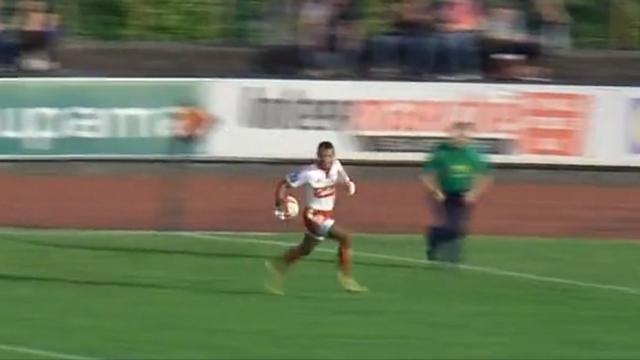 VIDEO. Pro D2 : Joji Raqamate touche son premier ballon avec Dax et marque un essai