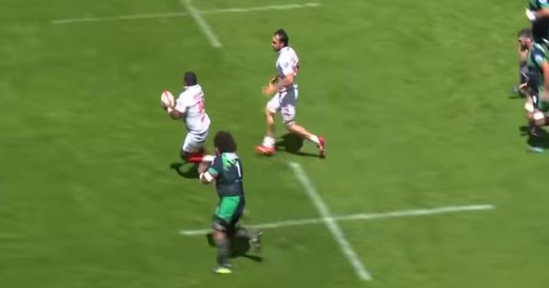 Pro D2 : le Biarritz Olympique réinvente l'essai du bout du monde avec une action de 90m ! [VIDEO]
