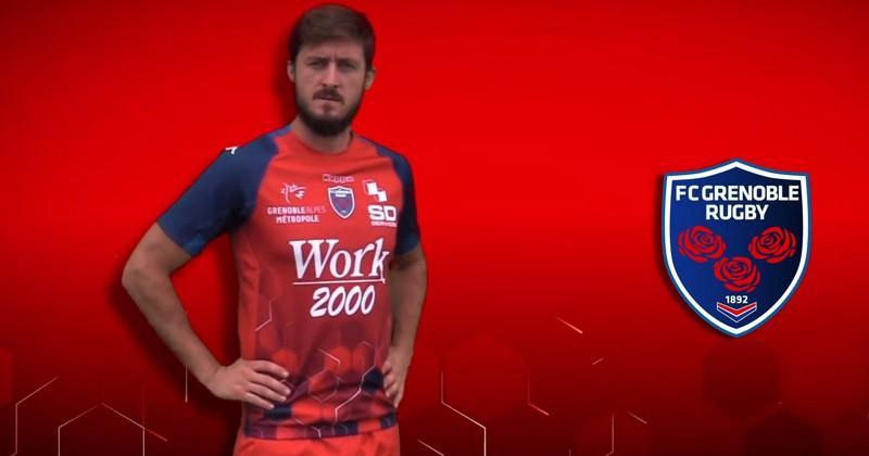 Pro D2 - Le FC Grenoble dévoile ses nouveaux maillots pour la saison 2019/2020 [VIDÉO]