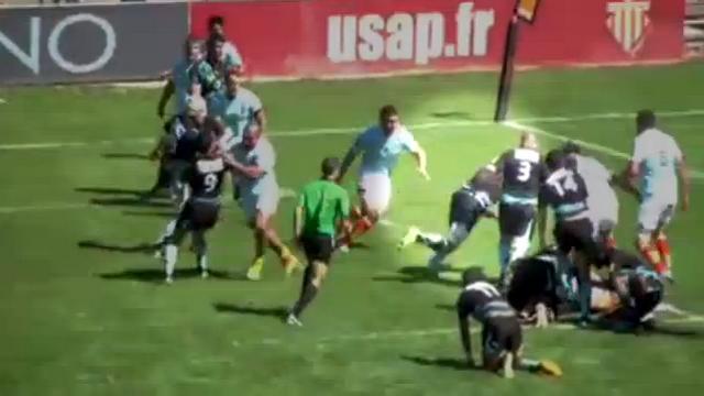 VIDEO. INSOLITE. Pro D2 - Massy. Shalva Sutiashvili hérite de la poule après son sublime essai...sur la ligne des 5 mètres