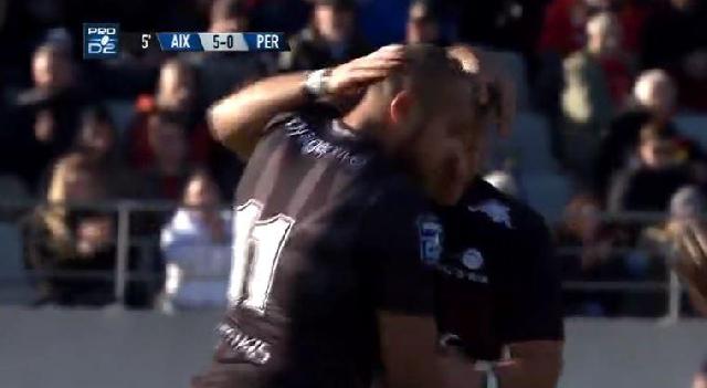VIDEO. Pro D2 - Marika Vakacegu culbute Jonathan Bousquet et Provence Rugby bat l'USAP