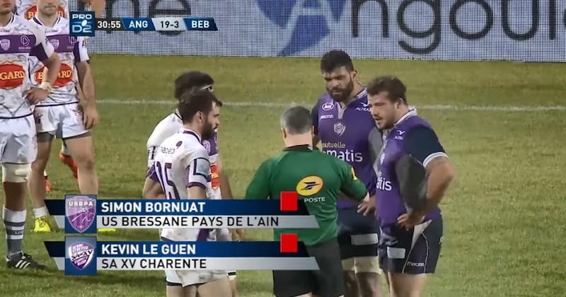Pro D2 - Sept joueurs exclus, quatre cartons rouges entre le SA XV et Bourg-en-Bresse