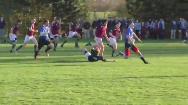 VIDEO. Angleterre - Puissance, vitesse et ruse pour le magnifique essai du jeune Pete Wild