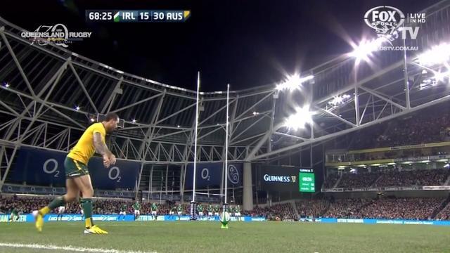 VIDEO. Quade Cooper redevenu magique avec l'Australie pour vaincre l'Irlande