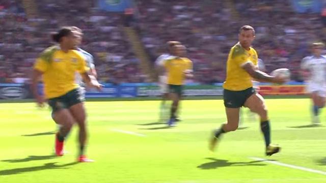 VIDEO. Coupe du monde - Australie. Quade Cooper va-t-il faire les frais d'un nouveau post déplacé ?