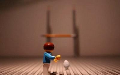Quand des Lego préparent la Coupe du Monde de Rugby