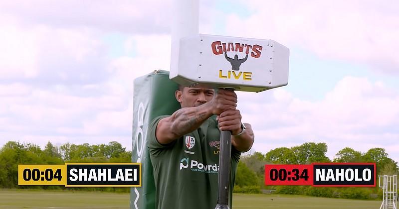 VIDEO. WTF. Quand des rugbymen et des strongmen s'affrontent, ce n'est pas pour les petits bras