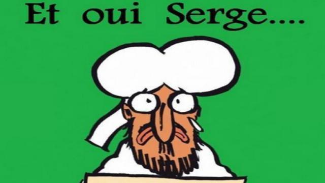 Quand les Bayonnais détournent la Une de Charlie Hebdo pour envoyer un message à Serge Blanco