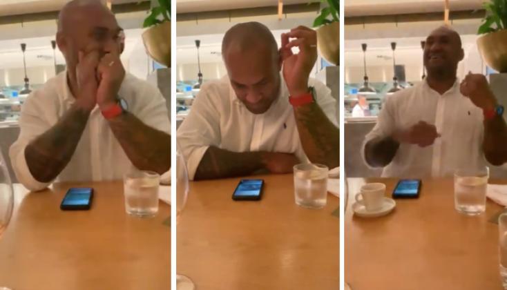 VIDEO. Quand Nemani Nadolo célèbre la victoire des Fidji... en plein dîner romantique !