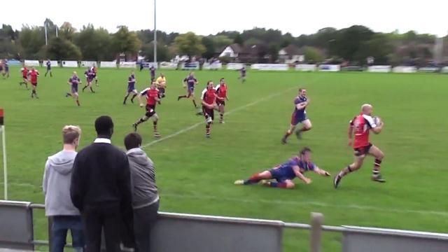 VIDEO. Un joueur anglais improvise dans ses 22 pour un très bel essai de 80 mètres