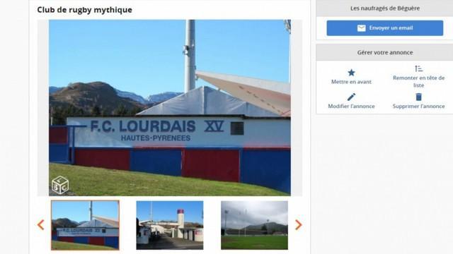 AMATEUR - Fédérale 2 - Qui a mis le FC Lourdes en vente sur Le Bon Coin ?