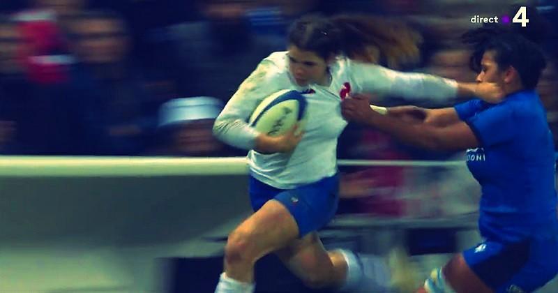 6 Nations féminin - Raffut, cad-deb, l'exploit de 80m de Cyrielle Banet contre l'Italie [RÉSUMÉ VIDÉO]