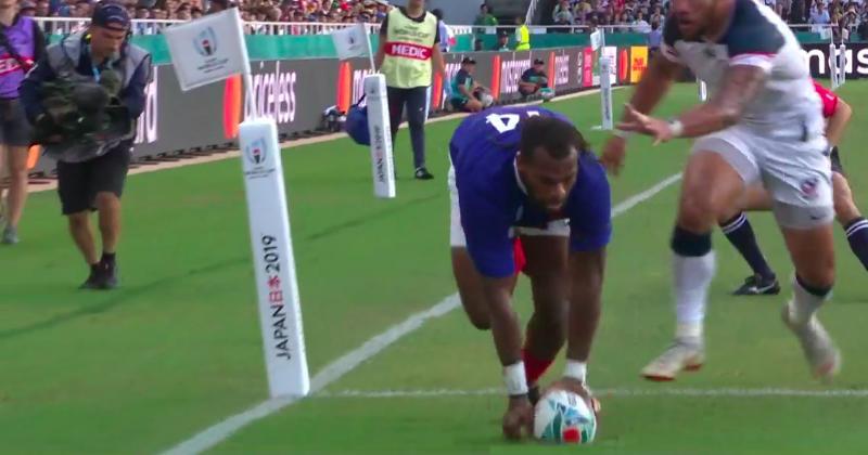 Lopez régale au pied pour Raka, voici tous les essais de France - USA ! [VIDEO]