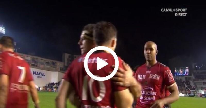 Le bulldozer Tuisova en action pour la victoire de Toulon face à Grenoble [VIDÉO]