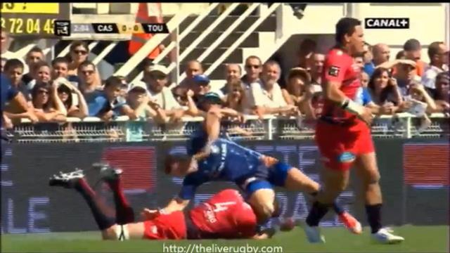 VIDEO. RCT : Bakkies Botha s'en prend au genou de Rory kockott