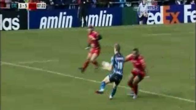 VIDEO. L'énorme match de Mathieu Bastareaud avec le RCT face à Exeter en H Cup