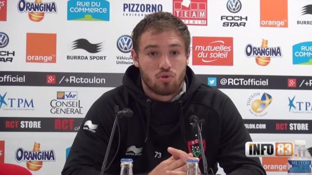 INTERVIEW. Top 14 - RCT : Théo Belan : « L'année ou jamais pour s'imposer à Toulon »