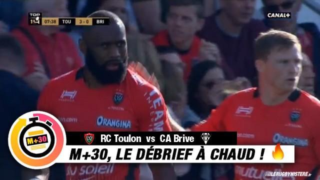 Top 14 - 8e journée. RCT vs CAB. Le M+30 du Rugbynistère