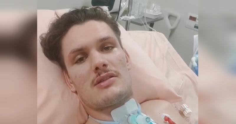 Le rugbyman niçois touché aux cervicales, James Lasis, avance dans sa récupération