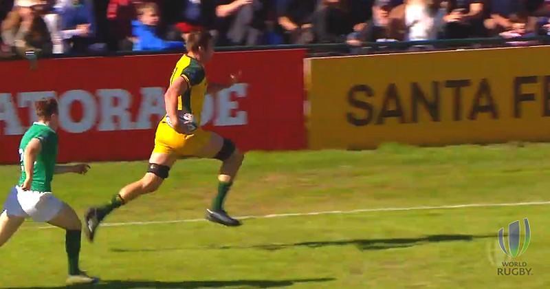 Ce deuxième ligne australien a peut-être marqué le plus bel essai d'avant de l'histoire [VIDEO]