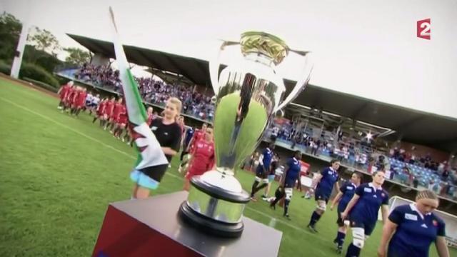 VIDEO. Flashback. Il y a un an, les Bleues terminaient à la 3e place de la Coupe du monde de rugby féminin