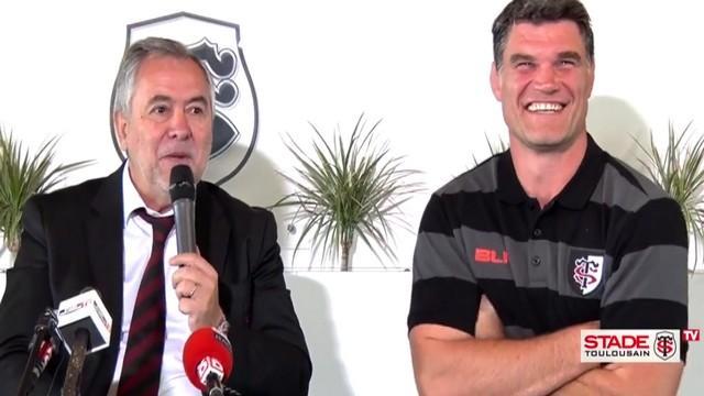 VIDÉO. Stade Toulousain - René Bouscatel fait de Fabien Pelous son successeur le plus solide