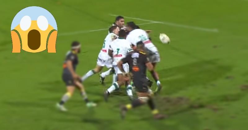VIDEO. Top 14 - Rene Ranger mystifie quatre Palois d'une sublime passe pour Vito