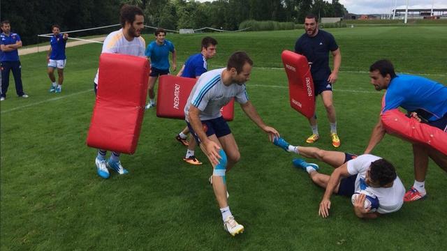 VIDEO. Reprise progressive pour l'équipe de France de rugby à 7 avant une saison historique