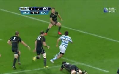 Résumé vidéo de Argentine - Ecosse (13-12)
