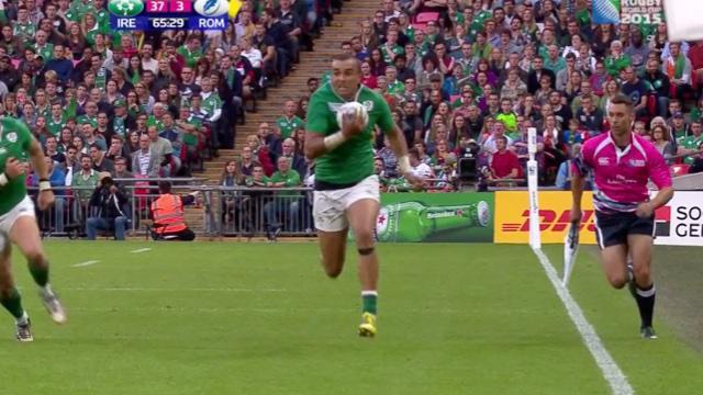 RÉSUMÉ VIDÉO. L'Irlande récite son rugby contre la Roumanie (44-10)