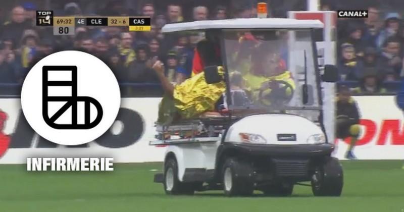 VIDÉO. XV de France - Rémi Lamerat (Clermont) a-t-il subi un K-O contre Castres ?