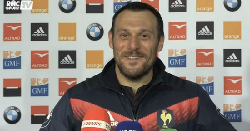 VIDEO. XV de France - Lionel Beauxis : ''Je n'ai rien à perdre, j'ai tout à gagner''